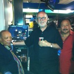 Fourplay with Quincy backstage