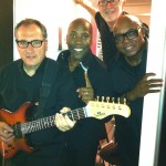 fourplay at dressing room door